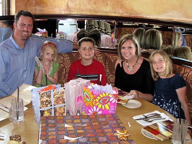 Kristi's birthday party