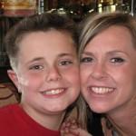 Drew & Mommy