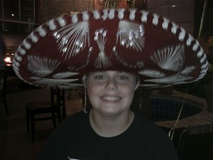 Drew at Don Pablos Mexican restaurant