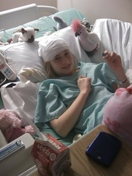 Alex's EEG at Arnold-Palmer Hospital (2/16/2010)