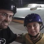 Daddy & Drew, skateboarding