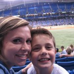 Kristi & Drew at a NY Yankees vs. Tampa Bay Devil Rays baseball game!
